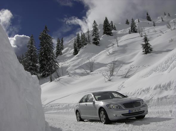 28.02.-03.03. und 19.03.-24.03.2006 Schweiz Les Diablerets Presse 221 Allrad 4x4 Col de la Croix