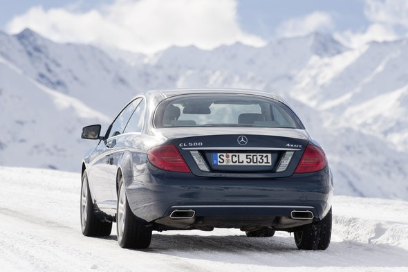 CL 500 4MATIC ( C216 ) 2010