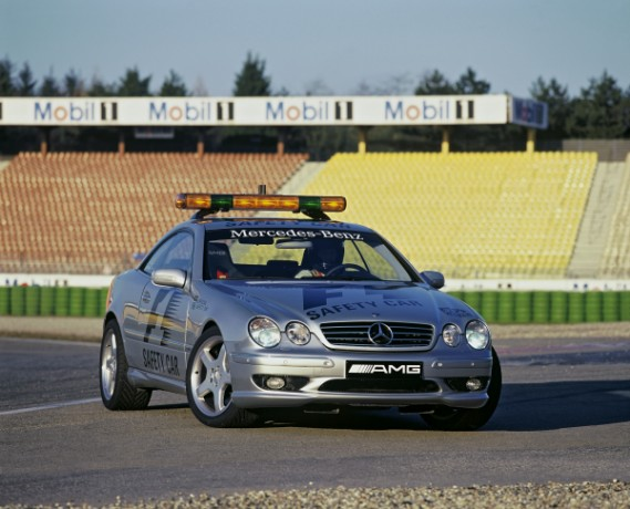 2000 Mercedes Benz Cl55 Amg F1 Safety Car. The Mercedes-Benz CL 55 AMG