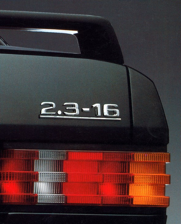 Mercedes-Benz Typ 190 E 2.3-16, 1984.