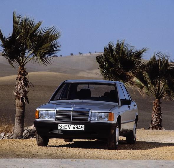 Mercedes-Benz Kompaktklasse-Limousine der Baureihe 201.