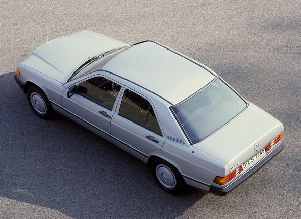 Mercedes-Benz Typ 190 E, Kompaktklasse-Limousine der Baureihe 201
