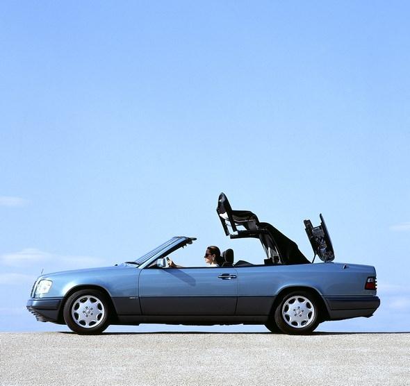 Mercedes-Benz E-Klasse-Cabriolet der Baureihe 124
