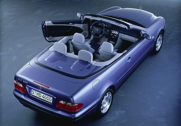 Mercedes-Benz Typ CLK 200  Cabriolet der Baureihe 208