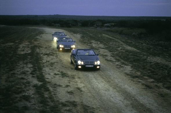 Mercedes-Benz CLK Cabriolet der Baureihe 208