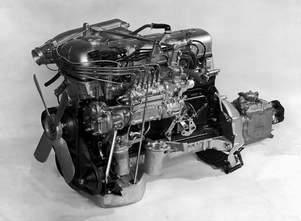 Mercedes-Benz Motor Typ 300 SE, 1965 bis 1967