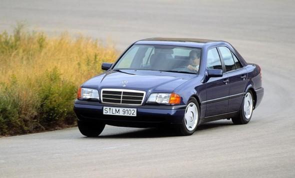 Mercedes w202 c class 1993 2000 mercedes for Mercedes benz c class w202