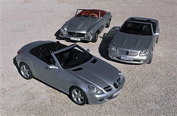 The new Mercedes-Benz SLK Roadster   Mercedes 500SEC.com