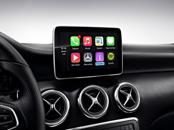Apple CarPlay Smartphone Integrationspaket Apple CarPlay smartphone integration package