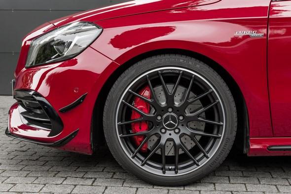 Mercedes-AMG A 45 4MATIC, jupiter rot, AMG Night-Paket, AMG Aerodynamik-Paket, jupiter red, AMG Night package, AMG Aerodynamics package