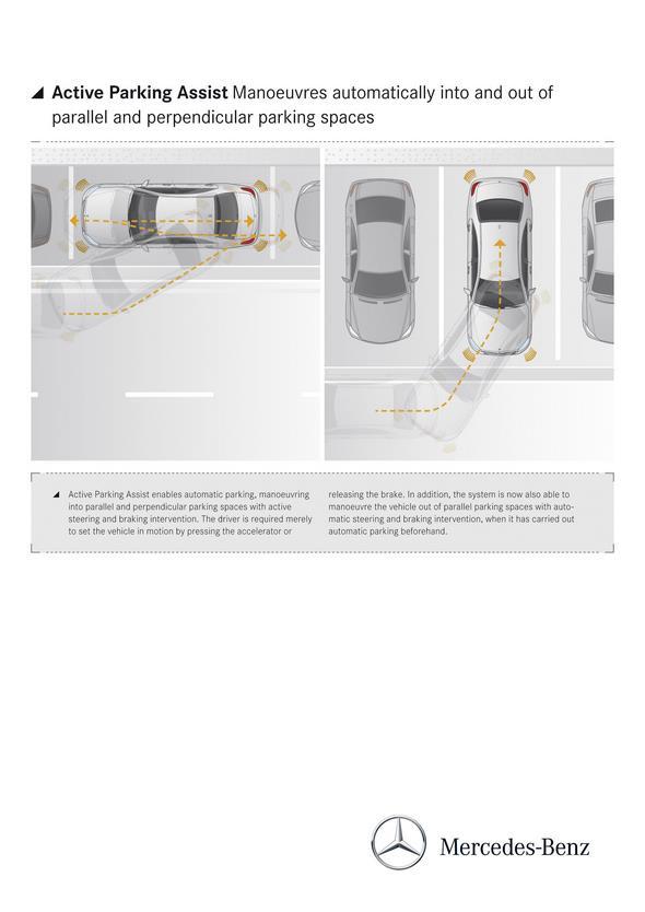 Mercedes-Benz S-Klasse (W 222) 2013, Active Parking Assist
