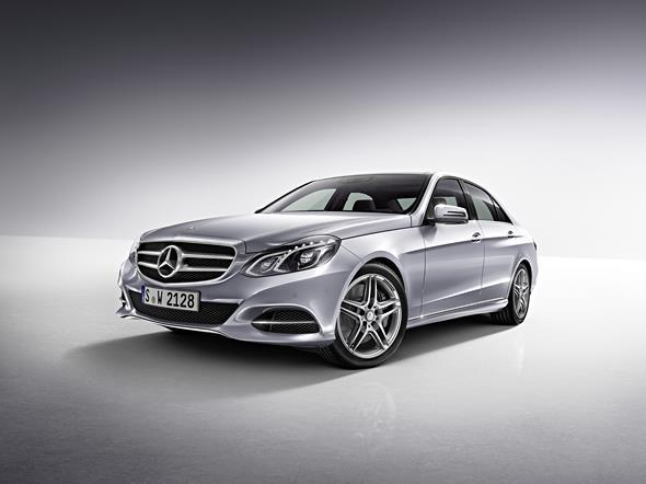 Mercedes-Benz E-Klasse, E 500 Avantgarde, Lack: Diamantsilber me