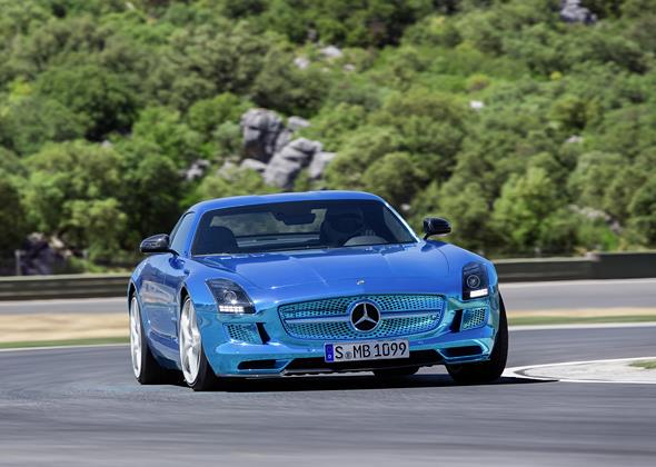 Mercedes Benz SLS AMG Electric Drive; (BR 197); Paris 2012