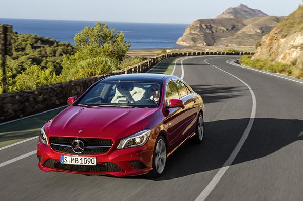 Mercedes-Benz CLA 220 CDI, (C117), 2012