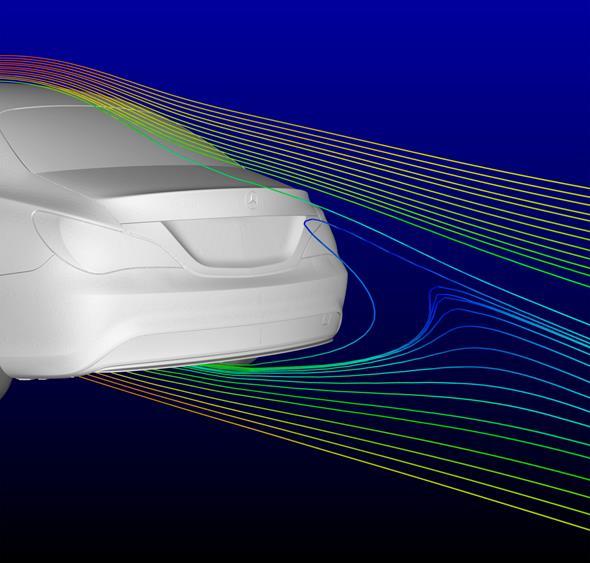 Mercedes-Benz CLA Aerodynamik