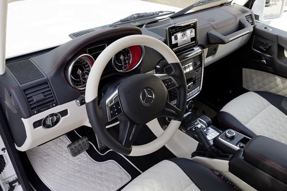 Mercedes-Benz G63 AMG 6x6 Showcar, Dubai 2013