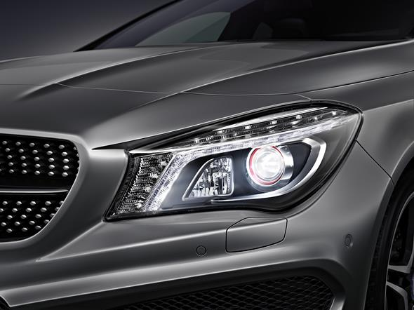 Mercedes-Benz CLA Intelligent Light System 2013