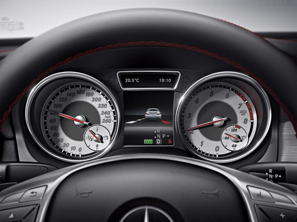 Mercedes-Benz CLA Attention Assistant 2013