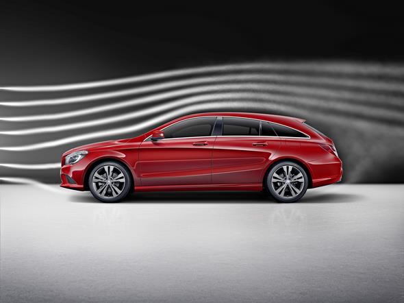 CLA Shooting Brake (X117) 2015, Aerodynamik CLA Shooting Brake (X117) 2015, Aerodynamics