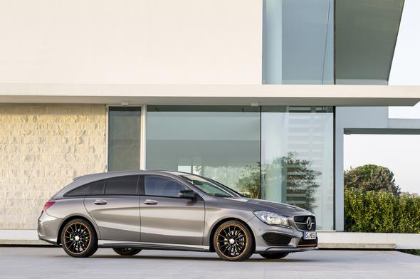 Mercedes-Benz CLA 250 4MATIC Shooting Brake (X117) 2014, OrangeArt, Mountaingrau Mercedes-Benz CLA 250 4MATIC Shooting Brake (X117) 2014, OrangeArt, mountain grey