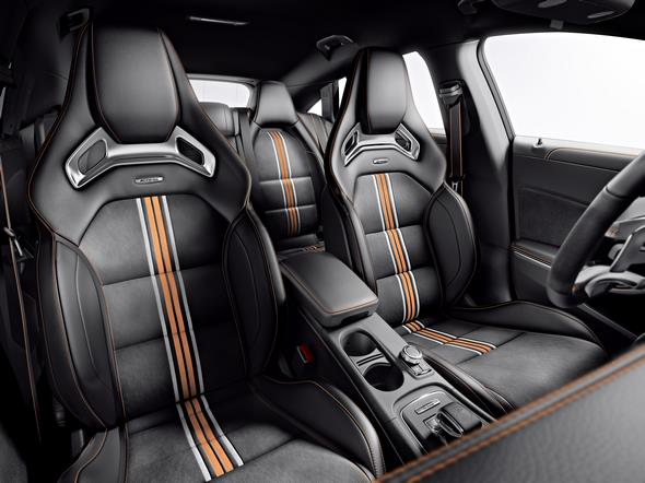 Mercedes-AMG CLA 45 Shooting Brake (X 117) 2014, Orange Art Studio