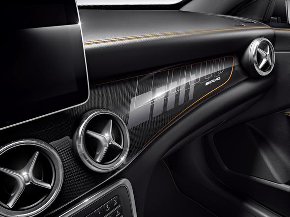 Mercedes-AMG CLA 45 Shooting Brake (X 117) 2014, Orange Art Studio