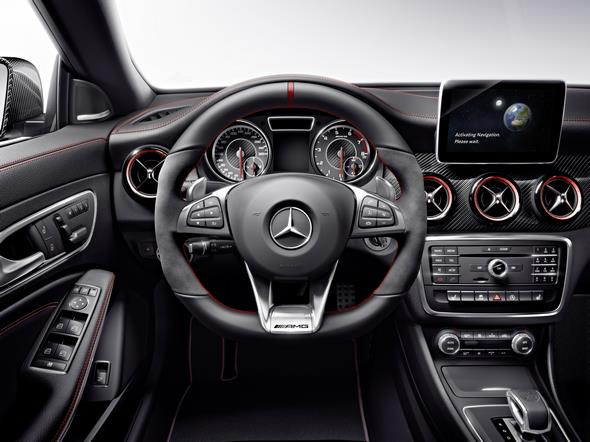 Mercedes-AMG CLA 45 Shooting Brake (X 117) 2014, Studio