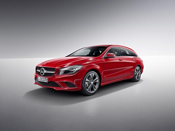 Mercedes-Benz CLA Shooting Brake (X117) 2014, jupiterrot, Studio Mercedes-Benz CLA Shooting Brake (X117) 2014, jupiter red, studio