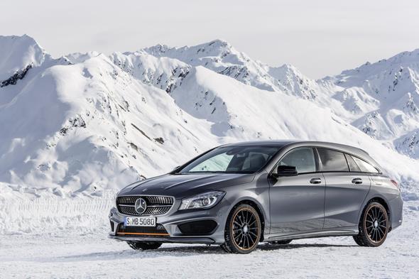 Mercedes-Benz CLA 250 4MATIC Shooting Brake (X117) 2014, OrangeArt, Mountaingrau Mercedes-Benz CLA 250 4MATIC Shooting Brake (X117) 2014, OrangeArt, mountain grey