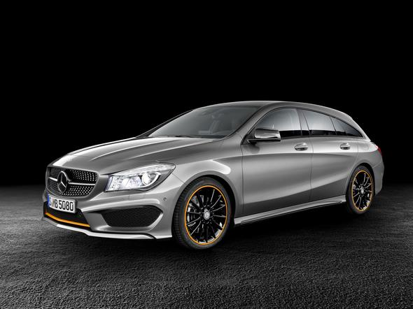 Mercedes-Benz CLA 250 4MATIC Shooting Brake (X117) 2014, OrangeArt, Mountaingrau, Studio Mercedes-Benz CLA 250 4MATIC Shooting Brake (X117) 2014, OrangeArt, mountain grey, studio