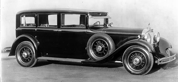 """Mercedes-Benz Typ """"Großer Mercedes"""" (Baureihe W 07, 1930 bis 1938), Pullman-Limousine aus dem Jahr 1931."""