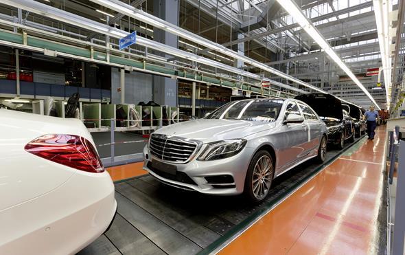Produktionsstart für die neue S-Klasse im Mercedes-Benz Werk Sindelfingen