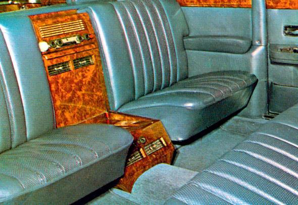 Mercedes-Benz Typ 600 Pullman-Limousine (6 Türen) der Baureihe W 100