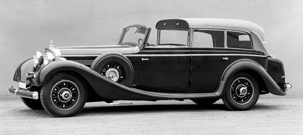 Mercedes-Benz Typ 770, 150/200 PS, Großer Mercedes, Cabriolet F, Bauzeit: 1930 bis1938.