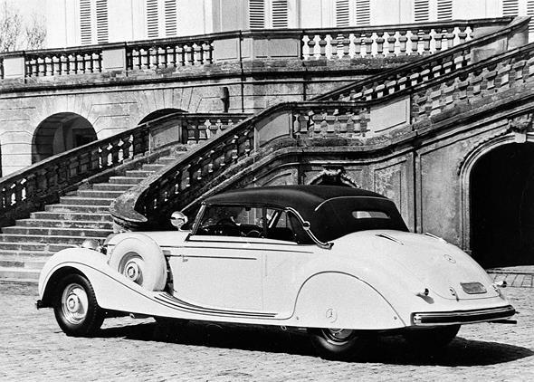 Mercedes-Benz Typ 770, 155/230 PS, Großer Mercedes, Cabriolet B, Bauzeit: 1938 bis 1943