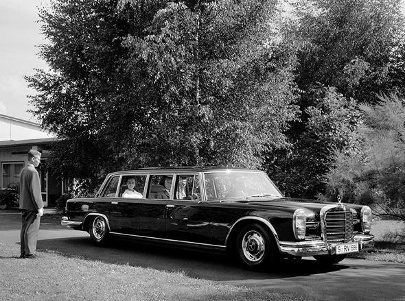 Mercedes-Benz Typ 600 Pullman-Limousine (4 Türen) aus dem Jahre 1963