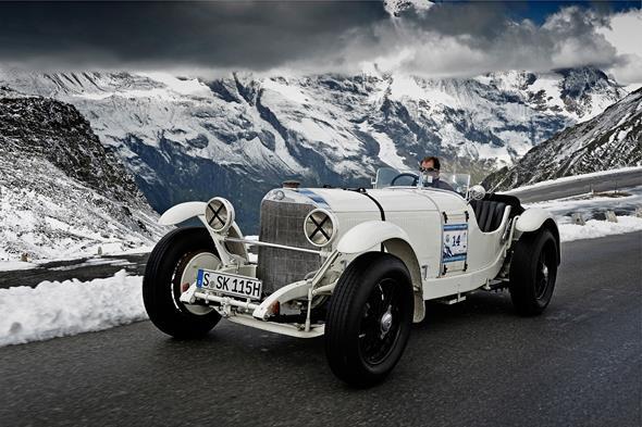 Mercedes-Benz SSK beim Großglockner Grand Prix 2012