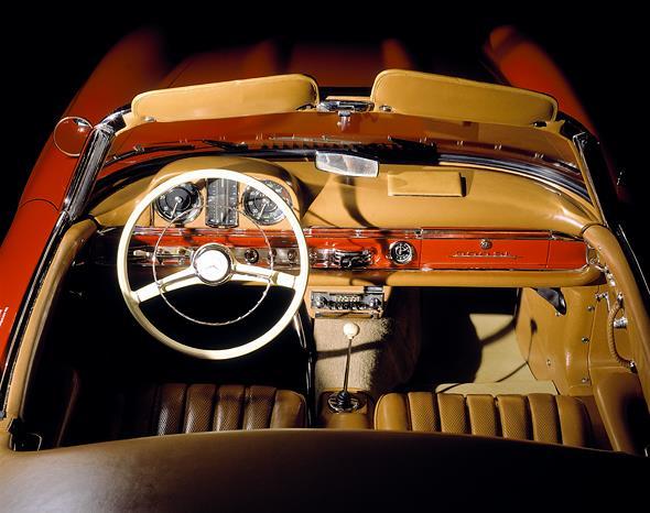 Caption orig.: Mercedes-Benz Typ 300 SL Roadster, 1960