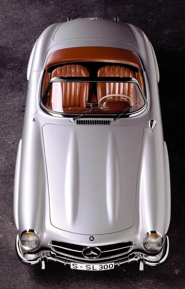 Caption orig.: Mercedes-Benz Typ 300 SL-Roadster, 1958