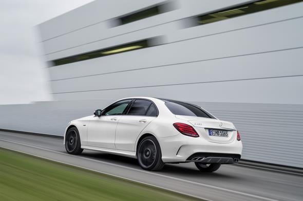 Mercedes-Benz C 450 AMG 4MATIC, Exterieur: Diamantweiß exterior: diamond white