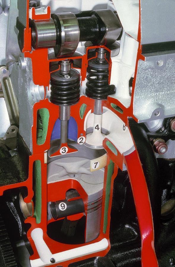 Ventilsteuerung, MB Motor M 102 E 2.3-16