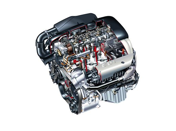Mercedes-Benz Motor Typ OM 611 DE 22 LA