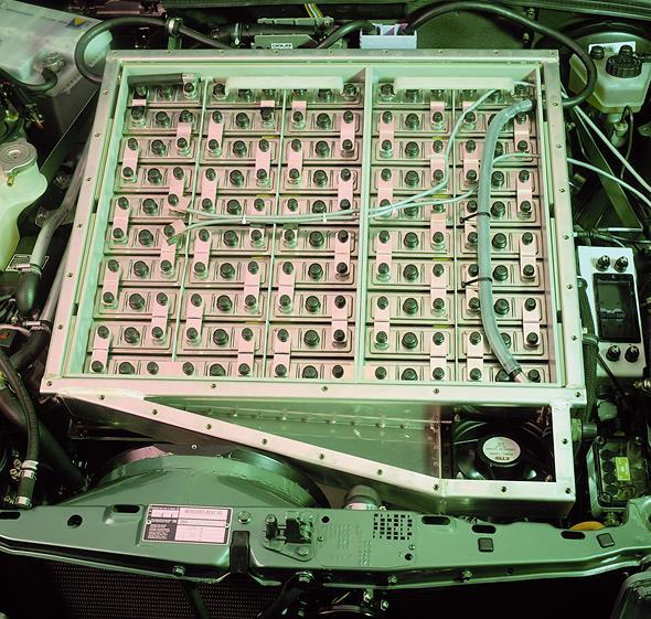 Elektrofahrzeug 190 E