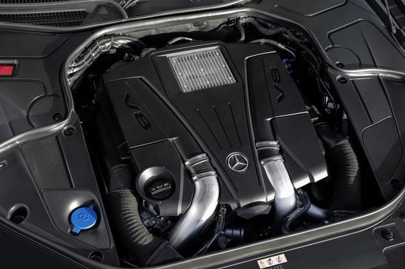Mercedes-Benz S 500 4MATIC Coupé (C 217) 2013