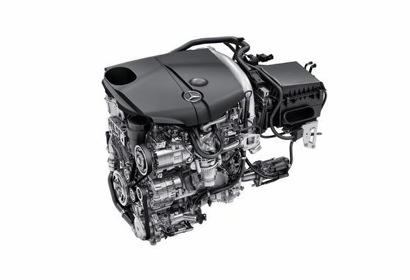 Mercedes-Benz 4-Zylinder Dieselmotor OM 651