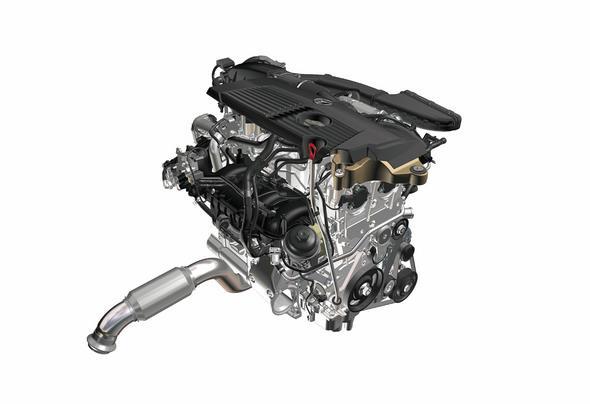 Mercedes-Benz 4-Zylinder Benzinmotor M 270