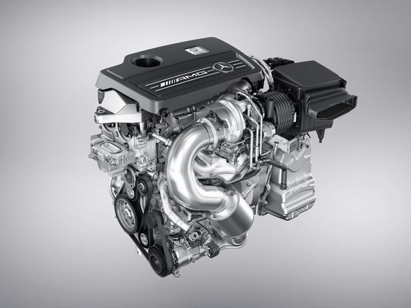 GLA 45 AMG Motor (X 156) 2013