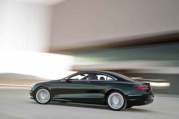 Mercedes-Benz S 500 4MATIC Coupé (C 217) 2013
