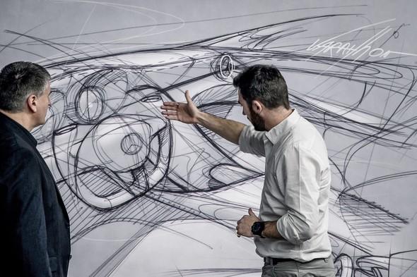 Mercedes-Benz C-Klasse Designprozess (W 205) 2013