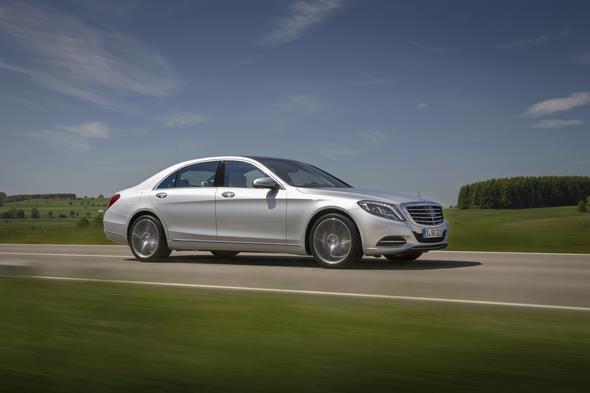 Mercedes-Benz S-Klasse auf der Schwäbischen Alb 2013